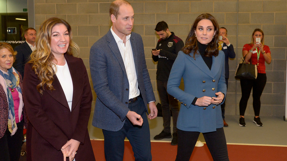 The Vice-Chairman with the Duke and Duchess of Cambridge