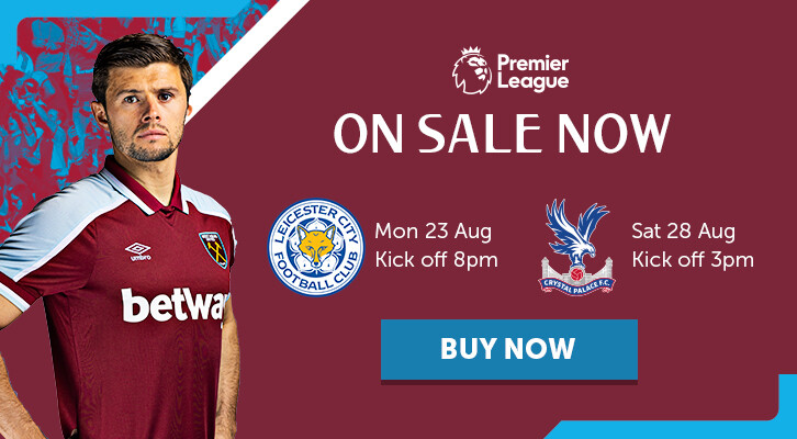 Leicester and Palace Tickets promo