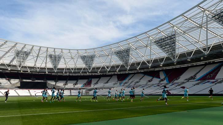 London Stadium Pitch Dimensions West Ham United