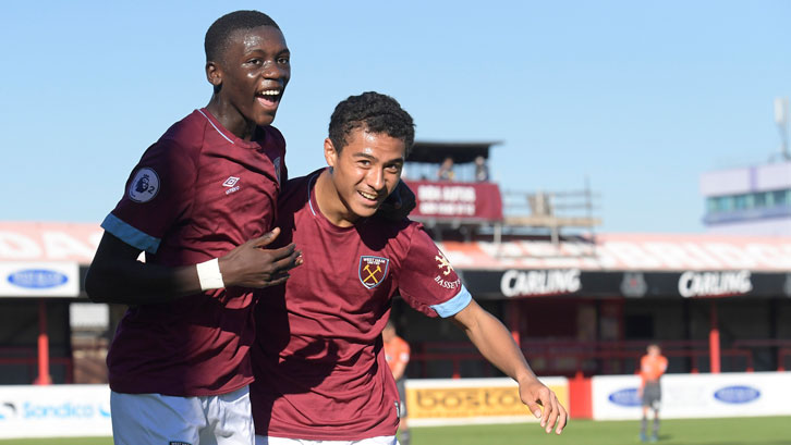 Emmanuel Longelo and Veron Parkes have been in U23s action
