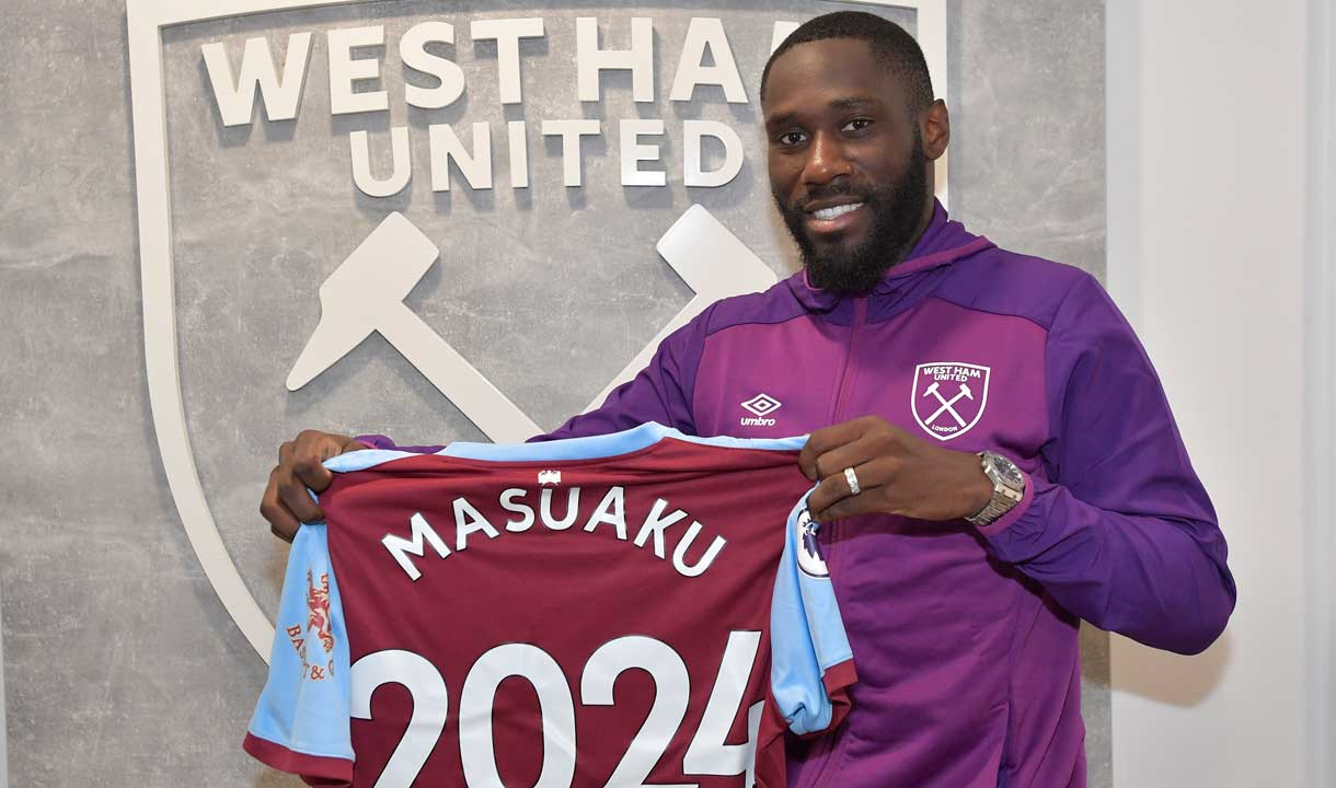 Arthur Masuaku signs his contract extension