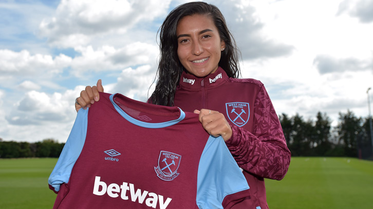 Maz Pacheco: I can't wait to grow with West Ham | West Ham United
