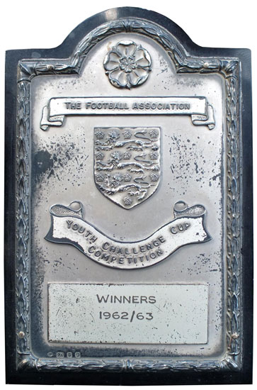 1963 FA Youth Cup winner's medal