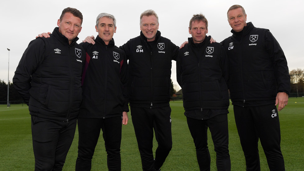 Moyes explains backroom team decisions