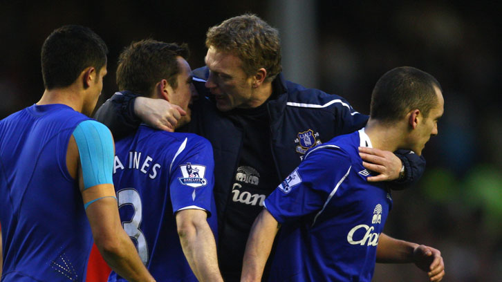 David Moyes led Everton to five top-six Premier League finishes and an FA Cup final
