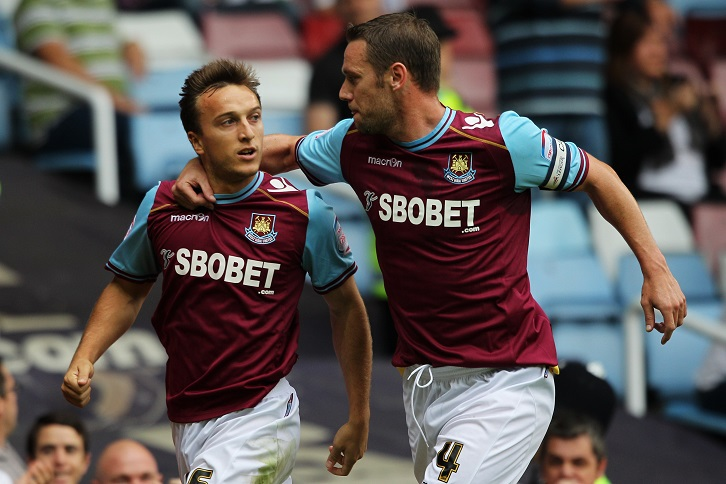 Mark Noble and Kevin Nolan
