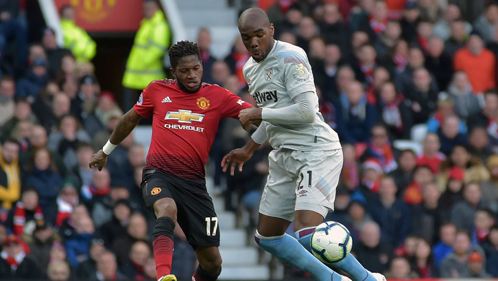 Angelo Ogbonna in action at Old Trafford