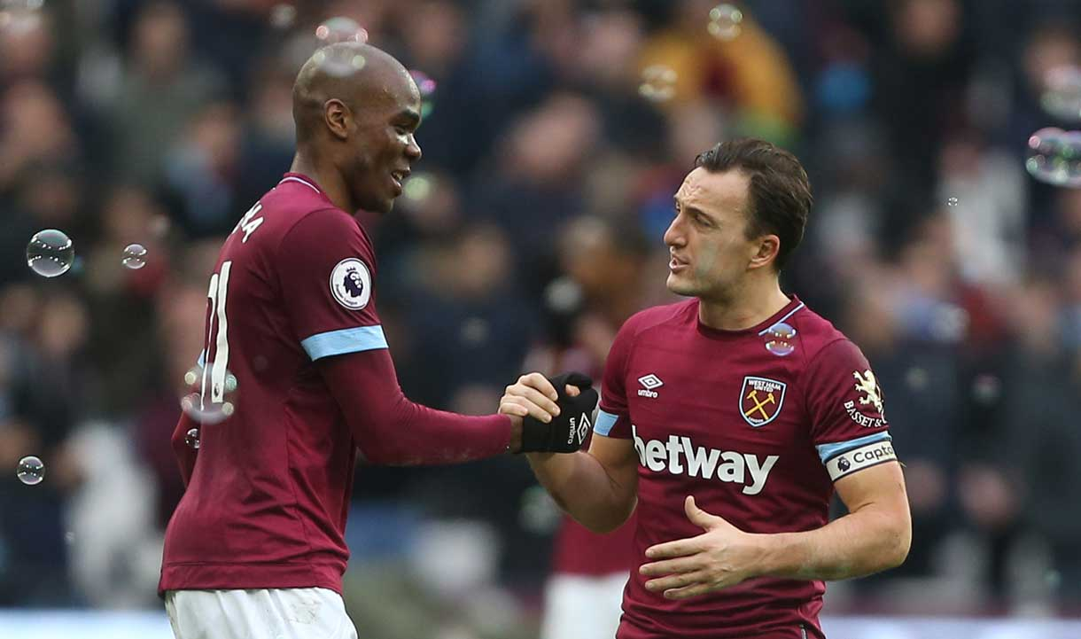 Angelo Ogbonna and Mark Noble