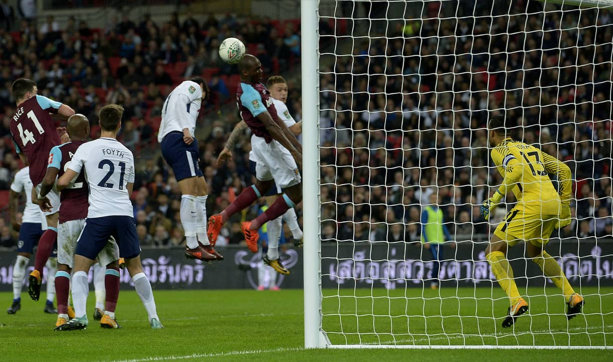 Angelo Ogbonna scores the winner at Tottenham