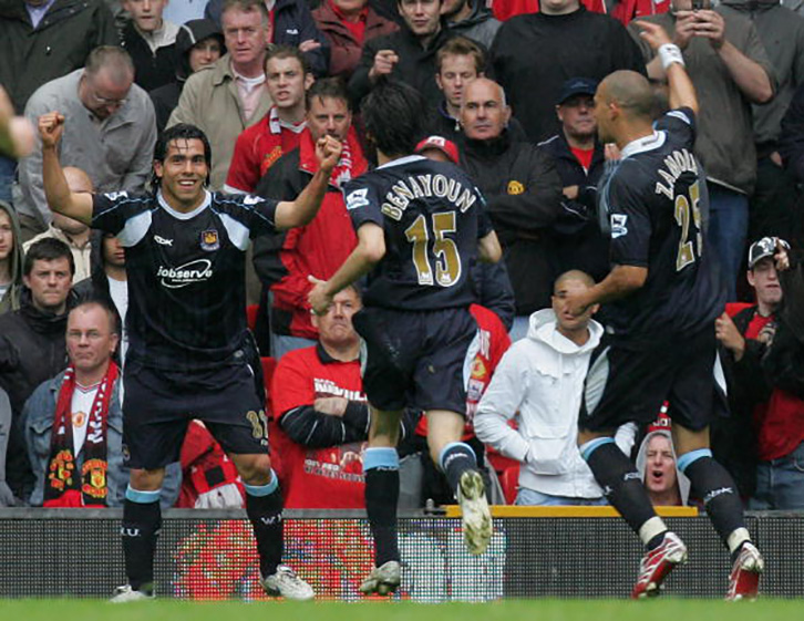 Bobby Zamora assisted Carlos Tevez's dramatic winner at Manchester United in May 2007