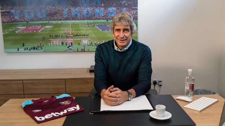 Manuel Pellegrini settles into life at Rush Green