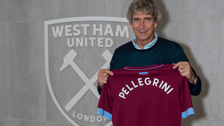 Manuel Pellegrini is West Ham United's new manager
