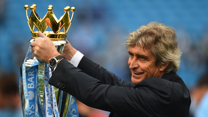Manuel Pellegrini lifted the Premier League title with Manchester City in 2014