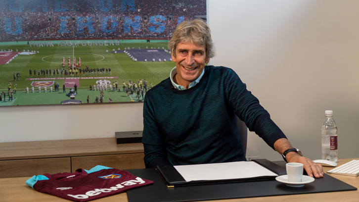 Manuel Pellegrini wants to put together a strong and balanced squad