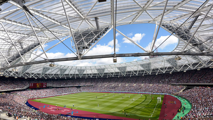 London Stadium Goes Claret West Ham United