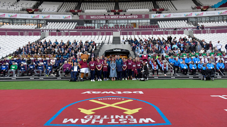 The Players' Project was launched at London Stadium in November