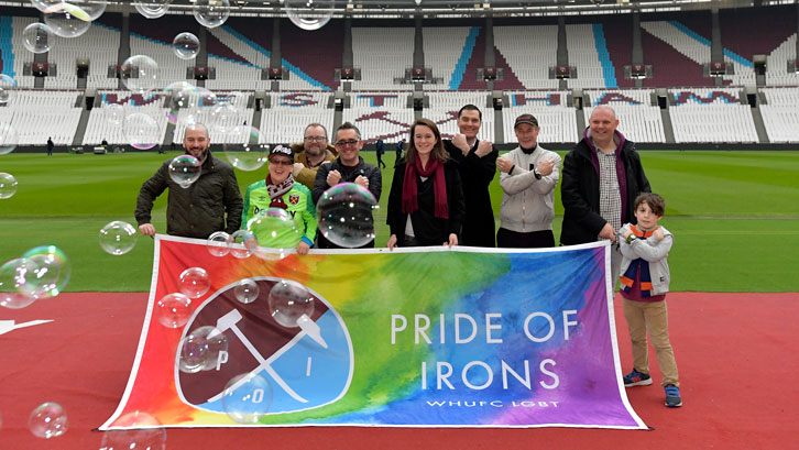 Pride of Irons at London Stadium