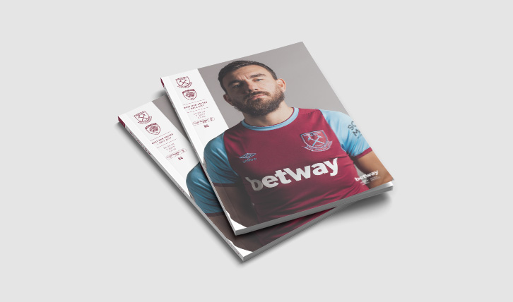 Official Programme for West Ham v Hull on sale now!