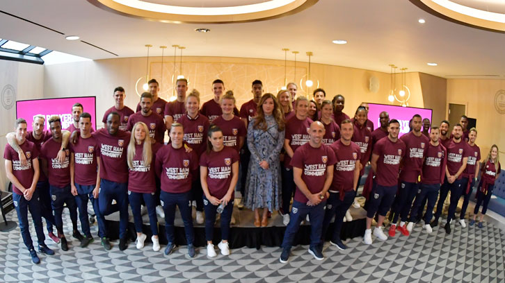 West Ham United Players' Project