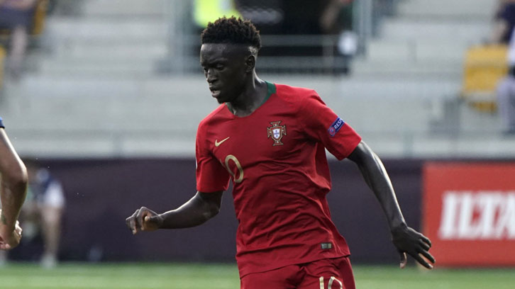 Quina in action in the UEFA European U19 Championship final