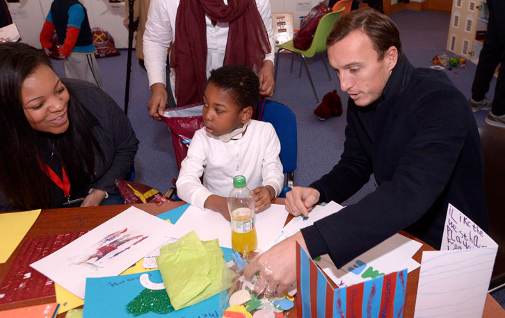 Mark Noble is a patron of Richard House