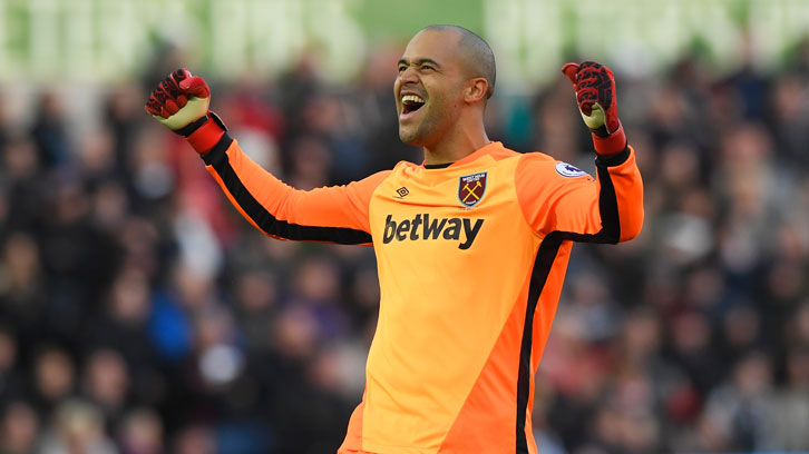 Darren Randolph played 42 times during his first spell with West Ham United