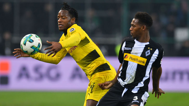 Reece Oxford returned to action for Borussia Monchengladbach