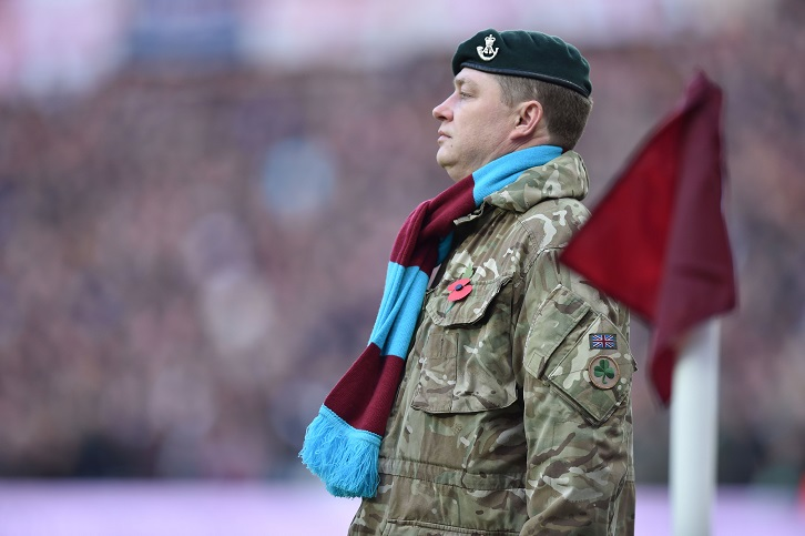 West Ham invite fans to pay tribute this Remembrance Day
