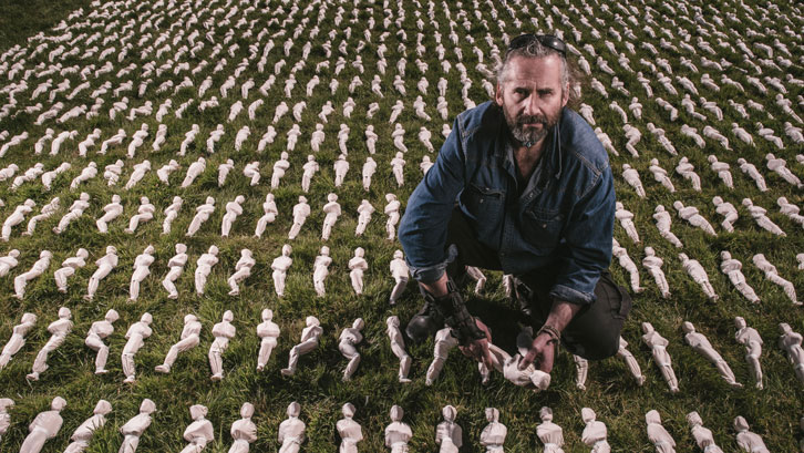 Shrouds of the Somme is the creation of artist Rob Heard