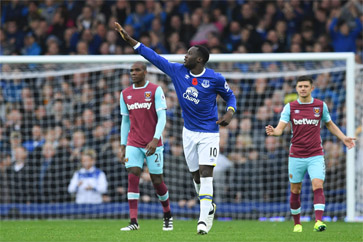 Lukaku scored earlier this season against the Hammers