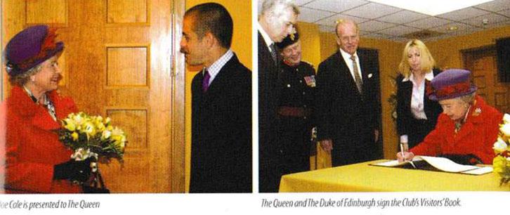 Royal Visit in 2002
