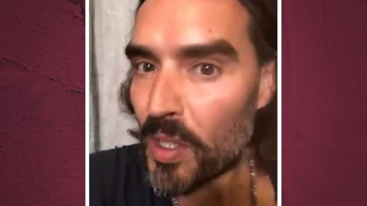 Russell Brand on Any Old Irons podcast