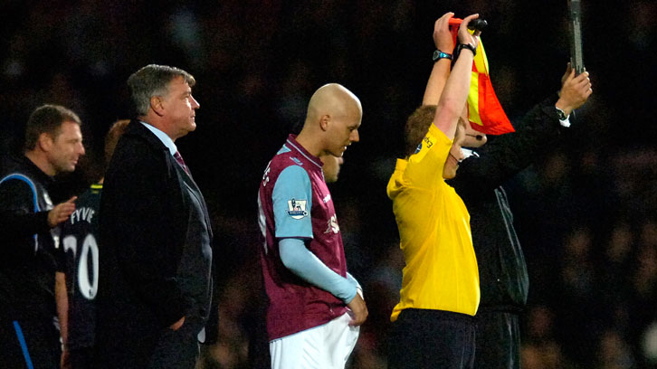 Sam Allardyce handed Dylan Tombides his West Ham United debut on 25 September 2012
