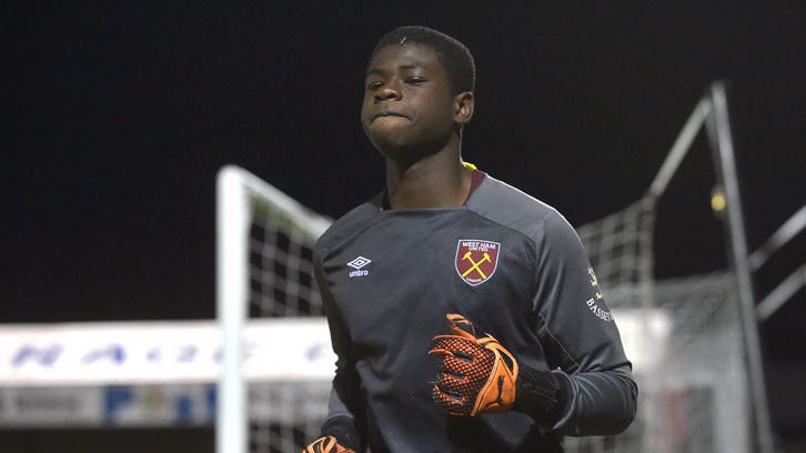 Schoolboy goalkeeper Serine Sanneh saved a penalty in extra-time