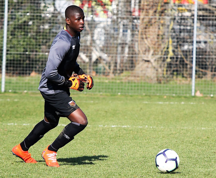 Goalkeeper Serine Sanneh was in outstanding form against Aston Villa U18s