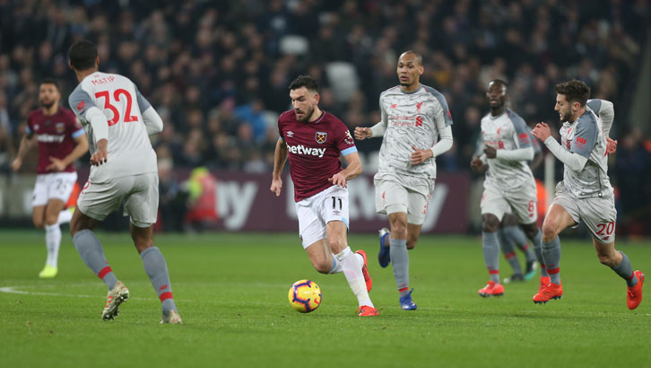 Robert Snodgrass takes the game to Liverpool on Monday night