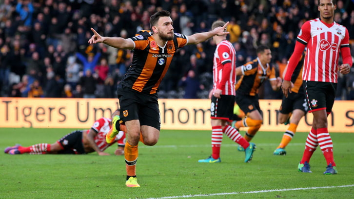 Robert Snodgrass has scored four goals against Southampton during his career