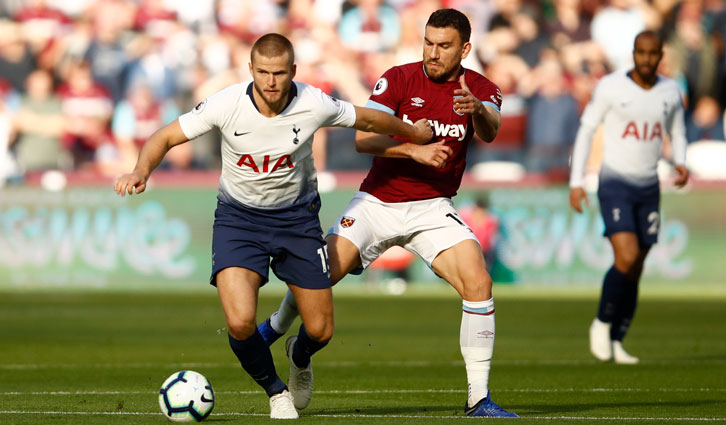 Robert Snodgrass in action against Tottenham Hotspur