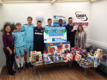 The Academy first donated to the Time Radio toy appeal