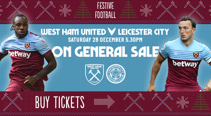 Leicester City tickets promo graphic