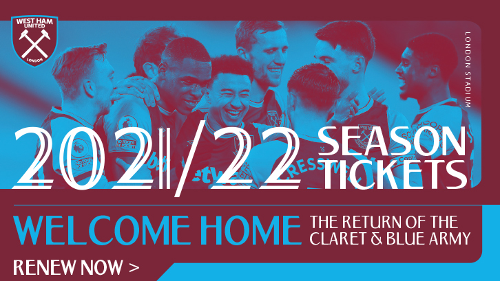 Season Ticket renewals open for 2021/22 Premier League season