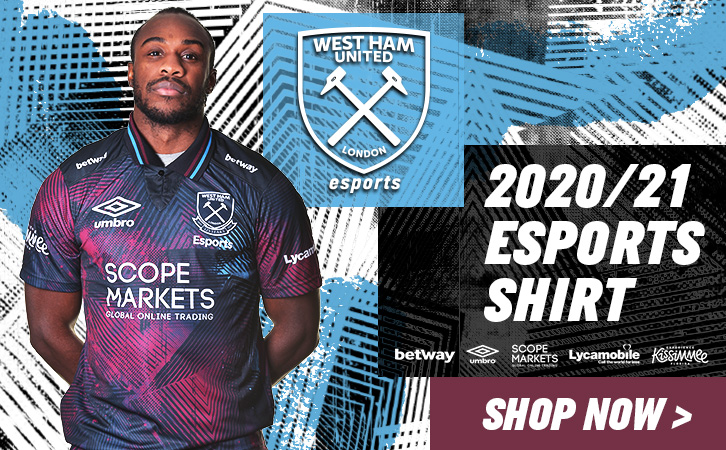 West Ham Esports 2020/21 shirt