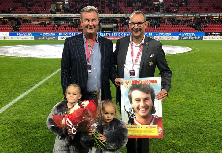 Kalmar FF Wall of Fame ceremony