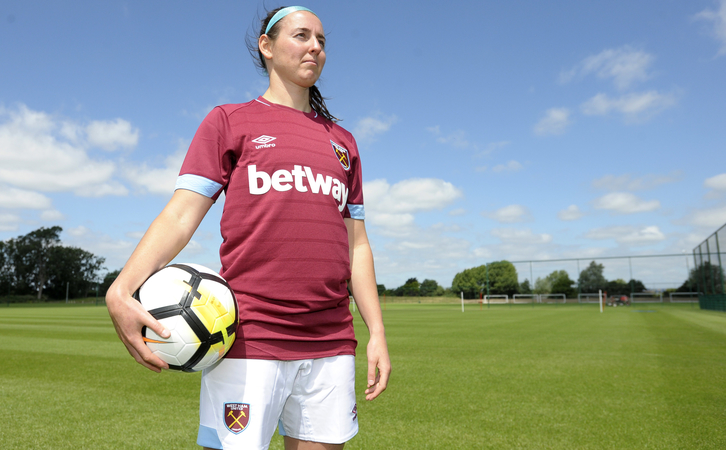 Erin Simon signs for West Ham United