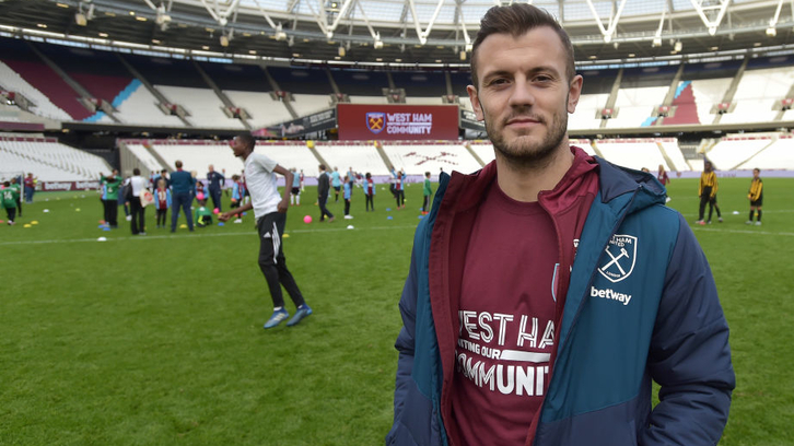 Jack Wilshere at The Players' Project