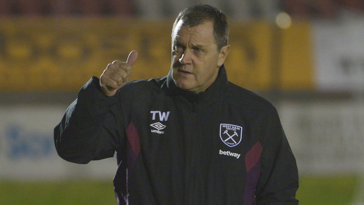 Terry Westley thumbs up