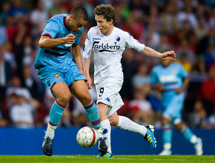 West Ham took on FC Copenhagen in 2011