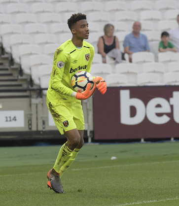 Nathan Trott made a string of fine saves