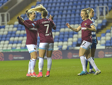 Lehmann at the double as Hammers beat Reading