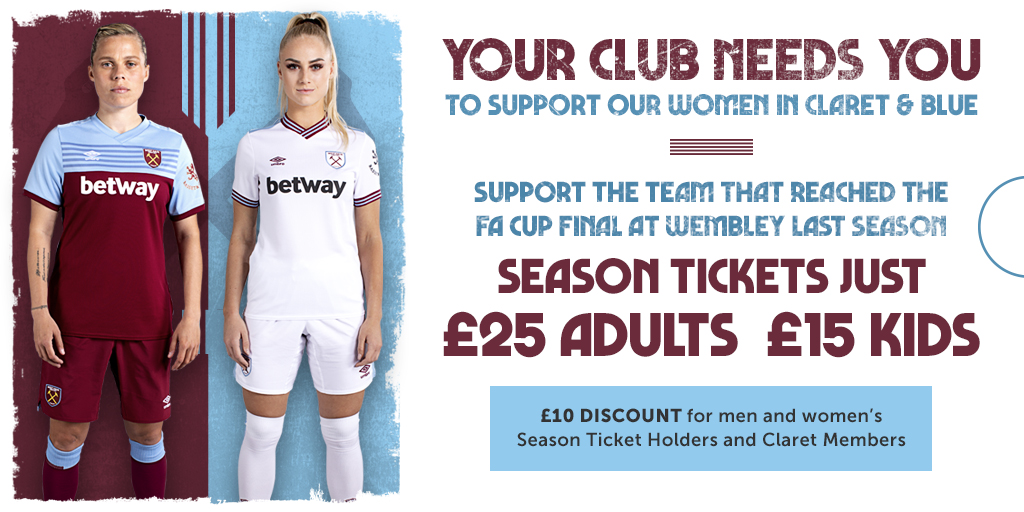 Women's Season Ticket promo graphic